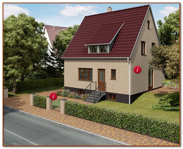 Презентационный дизайн будущего дома